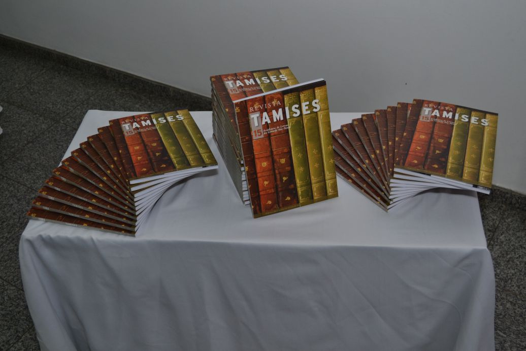 Lançamento da Revista TAMISES 15