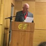 Acadêmico Clóvis Roberto dos Santos, assume a Cadeira nº 19