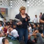 Acadêmica Anna Stoppa participou de eventos nas cidades de Congonhas e Prados (Minas Gerais)