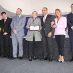 A Presidente Maria Zulema Cebrian recebeu da Prefeitura Municipal de São Caetano do Sul a Medalha di Thieni